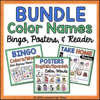 Colors / Color Words / Bundle