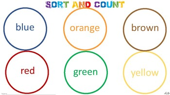 color sort, count, and graph