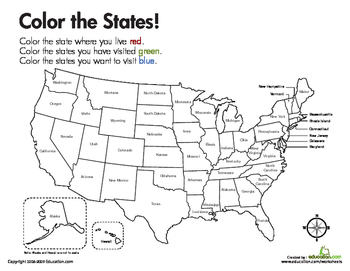 color the states third
