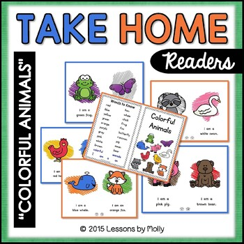 Color Words / Reading Booklet