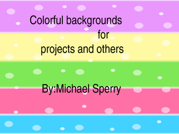colorful backround for projects and others