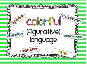 Colorful Figurative Language
