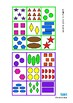 Colors Shapes Counting Lotto Game Autism Special Education