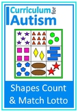 Colors Shapes Lotto Autism Turn Taking