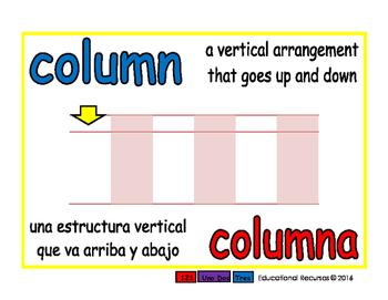 column/columna prim 1-way blue/rojo