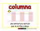 column/columna prim 2-way blue/rojo