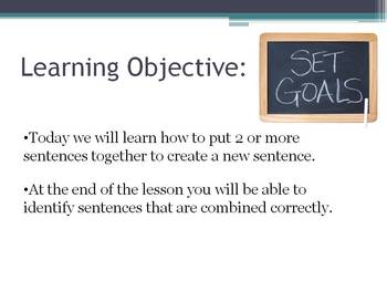 combining sentences ppt