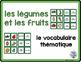 combo pack - les légumes et les fruits