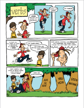 Verbs: A Comic Lesson With Activities