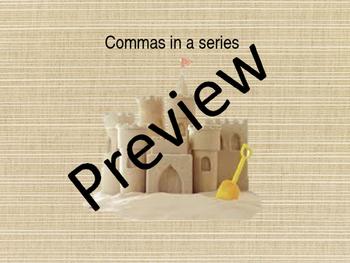 commas and capitalization