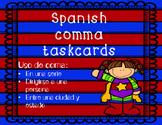 commas taskcard (spanish)