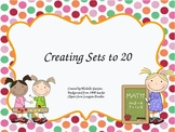 common core creating sets to 20