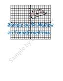 common core math grade 9 - Transformations