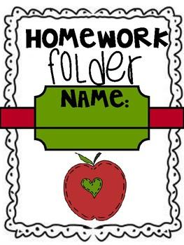 communication folder cover sheet (apple design)