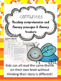 communities fluency and comprehension leveled passages