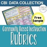 community based instruction data collection free