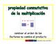 commutative of multiplication/conmutativa de mult prim 2-way blue/verde