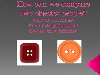 comparing different objects