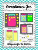Compliment Jar {Classroom Incentive & Craftivity}