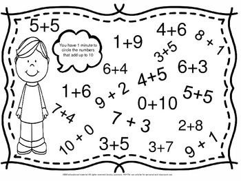compose and decompose number 10