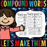 compound words/cut and paste/grade 1