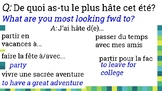 comprehensible input French prom summer personalized quest