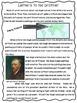 comprehension reading Vincent Van Gogh