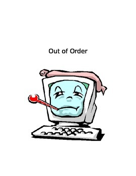 computer out of order