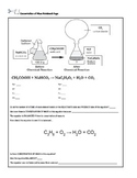 conservation of mass interactive notebook page