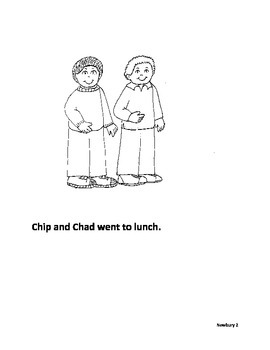 consonant diagraphs - Chip and Chad