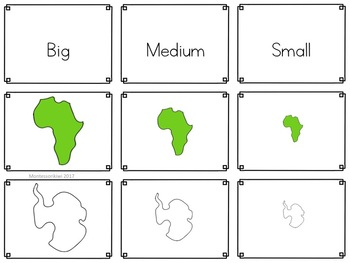 continent themed math sorting