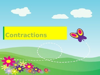 contractions - 68 pairs