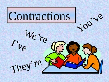 contractions power point