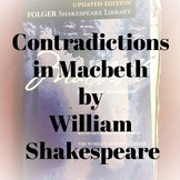contradictions in Macbeth by William Shakespeare | one pag