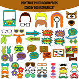 Scooby Doo Inspired Printable Photo Booth Prop Set