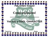 cool character award