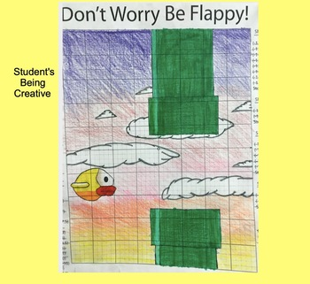Coordinate Plane Pictures (Flappy Bird Game)