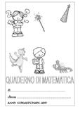 copertina quaderno matematica classe seconda