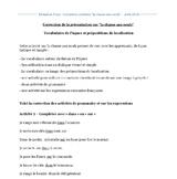 """correction présentation """"la chasse aux oeufs"""" -  egg hunt"""