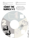 count the number 1-3 worksheet Islamized education!