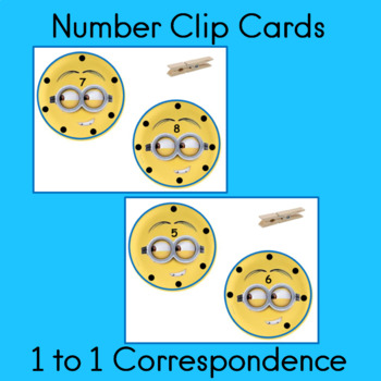 counting and 1:1 correspondence math center