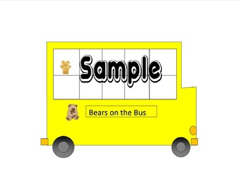 counting bears on the bus