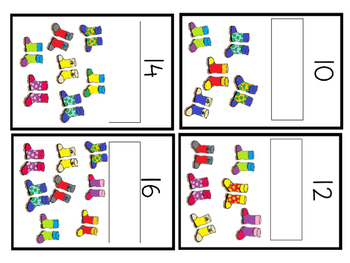 counting by twos---- math box activity