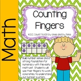 Counting Activities (ones and tens)- Build Number Sense (Counting Fingers)