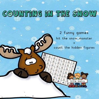 counting in the snow