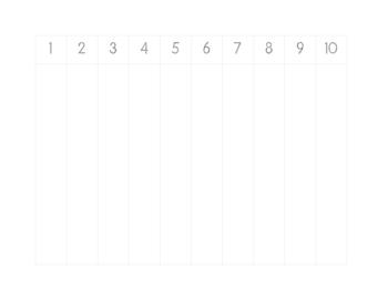 counting worksheet dot font