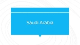 country of the week powerpoint Saudi Arabia