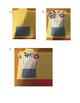 coupons SU-PÈRE HÉROS noir et blanc avec étapes pour carte