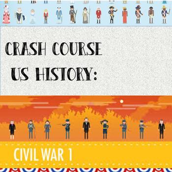 Crash Course - US History: Civil War Part I (#20)