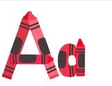 crayon alphabet
